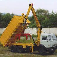 Ломовроз «Синегорец-75» с грейфером