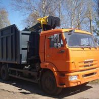 Аренда ломовозов с гидроманипулятором КАМАЗ T6307F