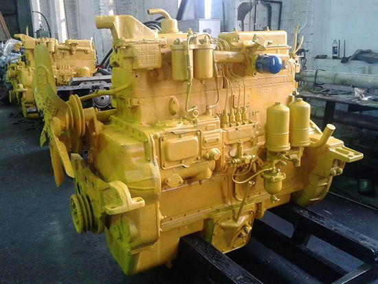 Двигатель бульдозера Т-130