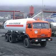 Газовоз КАМАЗ