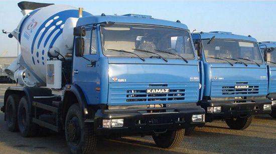 Миксер КамАЗ для транспортировки бетонной смеси