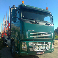 Аренда лесовоза Volvo