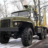 Лесовоз Урал 375