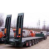 Аренда низкорамной платформы 35 тонн