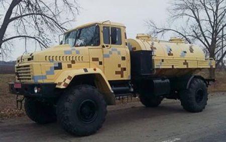 Новая автоцистерна для военных