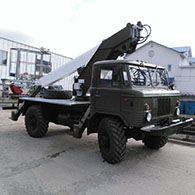 Автовышка на базе автомобиля ГАЗ66-11