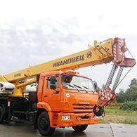 Автокран 32 тонны КС 5576К