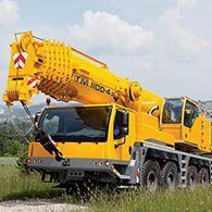 Аренда автокрана 100 тонн LIEBHERR LTM 1100-4.2