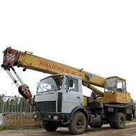 Автокран Ивановец вездеход 16 т