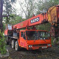 Автокран Като 40 тонн