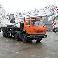 Аренда автокрана Сокол СКАТ-40