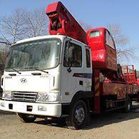 Аренда автовышки Hyundai Mega truck