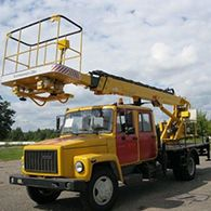 Автовышка ВС-18 (на базе ГАЗ 3309)
