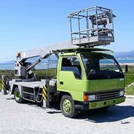 Аренда автовышки Mitsubishi Canter