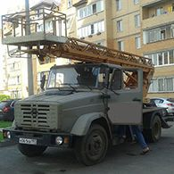Услуги автовышки АГП-18