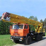 Автовышка ПМС-328-03 на базе Камаз