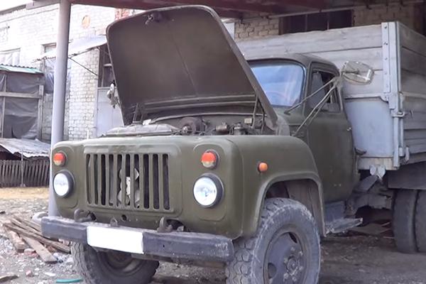 Кабина самосвала ГАЗ 53