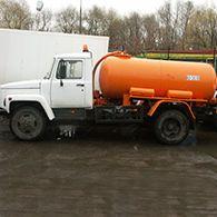 Аренда ассенизатора ГАЗ-3309