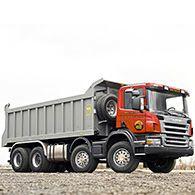 Аренда самосвала Scania