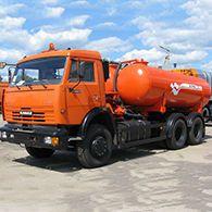 Аренда ассенизатора КО-505А на шасси КАМАЗ-65115