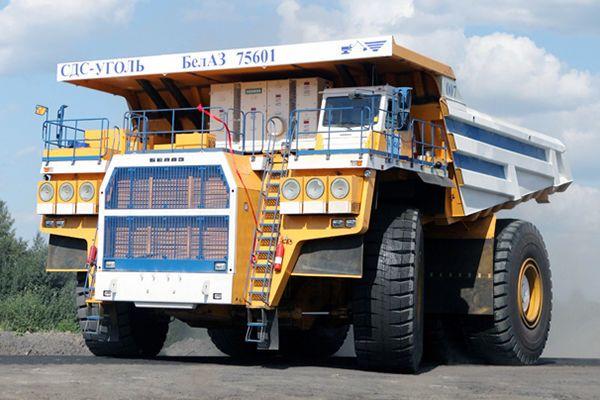 Самосвал БелАЗ-75601