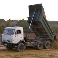 Аренда самосвала КАМАЗ-740
