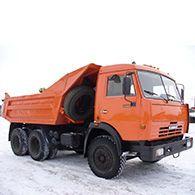 Аренда самосвала КАМАЗ 55111