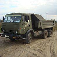 Аренда самосвала КамАЗ 5511