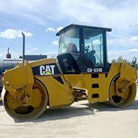 Услуги дорожного катка CAT