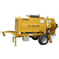 Услуги стационарного бетононасоса CIFA 506-309