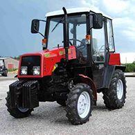 Аренда трактора с щеткой МТЗ-320