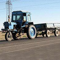 Аренда трактора с прицепом МТЗ-80