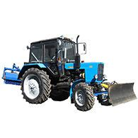 Трактор коммунальный уборочный на базе МТЗ-82.1