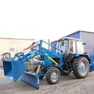 Аренда трактора МТЗ 82.1 с ПКУ 0.8