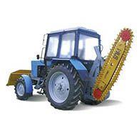 Аренда трактора мтз-82.1 с бгм-1