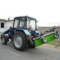 Аренда трактора со щеткой МТЗ-82.1