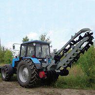 Аренда трактора (бары) на базе МТЗ-82