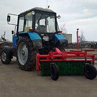Аренда уборочного трактора Беларус МТЗ-80