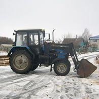 ТРАКТОР МТЗ-82.1 с куном