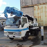 Аренда японской автобуровой установки AICHI