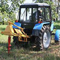 Аренда бура на базе трактора Беларусь