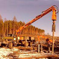 Аренда буровой установки УБМ 85 на базе Урал 4320