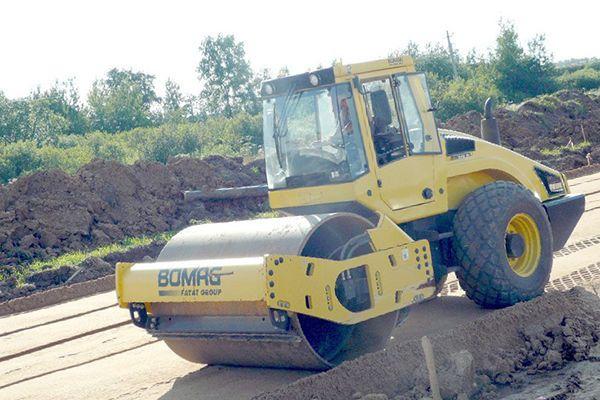 Уплотнение песка при строительстве