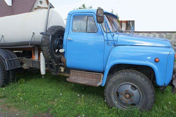 Ассенизатор ГАЗ-53