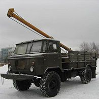 Ямобур вездеход на базе ГАЗ-66