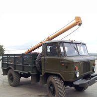Аренда ямобура на базе ГАЗ-66 БМ-302