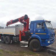 Услуги ямобура на базе КАМАЗ-43118
