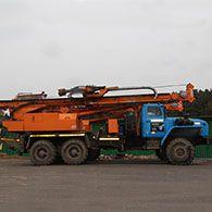 Аренда ямобура МРК-750А4 на базе Урал-4320