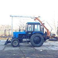 Аренда ямобура на базе трактора МТЗ-82.1