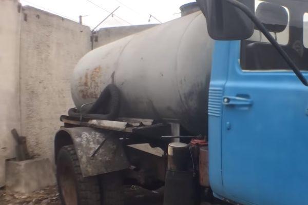 Резервуар ассенизатора ГАЗ-3307